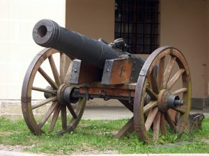 Civil War cannon in Bardstown