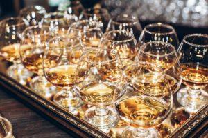 bourbon flights at bar and lounge