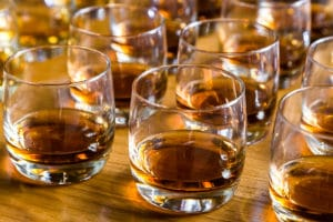Bourbon tastings on the Kentucky Bourbon Trail