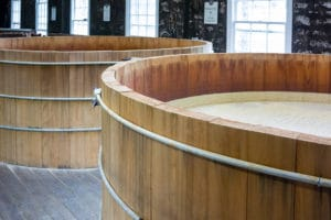 Kentucky Bourbon Mash Tanks Top View